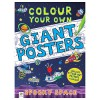 Colour your own Giant Posters: Spooky Space - Louise Park