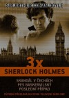 3x Sherlock Holmes - Arthur Conan Doyle
