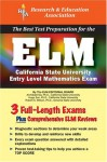 ELM (REA) - The Best Test Prep for the Entry Level Mathematics Exam - Archibald Sia, Robert S. Wilson, Hugo Sun