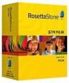 Rosetta Stone Version 3 Polish Level 1, 2 & 3 Set with Audio Companion - Rosetta Stone