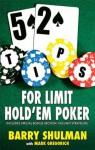 52 Tips for Limit Hold'em Poker - Barry Shulman