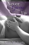 Never Giving Up (The Never Series Book 3) - Anie Michaels, Krysta Drechsler, Brook Hryciw Shaded Tree Photography