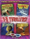 3-D Thrillers: Dinosaurs, Sharks, Mummies, and Outer Space - Heather Amery