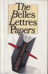 The Belles Lettres Papers - Charles Simmons