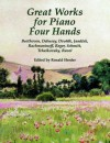 Great Works for Piano Four Hands - Ronald Herder