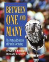 Between One and Many: The Art and Science of Public Speaking - Michael D. Scott, Steven Brydon