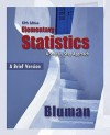 Combo: Elementary Statistics, a Brief Version with Student Solutions Manual - Bluman Allan, Allan Bluman