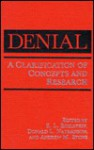 Denial: A Clarification of Concepts and Research - E. L. Edelstein, D.L. Nathanson
