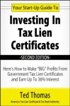 Your Start-Up Guide To Investing In Tax Lien Certificates - Ted Thomas