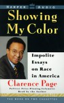 Showing My Color: Impolite Essays on Race in America (2 Cassettes) - Clarence Page