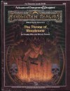 The Throne of Bloodstone (Advanced Dungeons & Dragons: Forgotten Realms Adventure, No. H4) - Douglas Niles, Michael Dobson