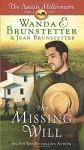 The Missing Will: The Amish Millionaire Part 4 - Wanda E. Brunstetter, Jean Brunstetter