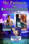 The MacLomain Series- Early Years (Books 1, 2 and 3): A Highlander Time Travel Romance Boxed Set - Sky Purington