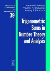 Trigonometric Sums in Number Theory and Analysis - G.I. Arkhipov, A.A. Karatsuba