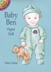 Baby Ben Paper Doll - Yuko Green