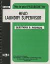 Head Laundry Supervisor - Jack Rudman, National Learning Corporation