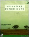 Grammar Dimensions 3: From, Meaning, And Use - Stephen H. Thewlis