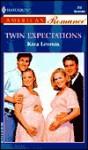 Twin Expectations (Harlequin American Romance, No 856) - Kara Lennox