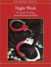 Night Work: Kate Martinelli Series, Book 4 (MP3 Book) - Laurie R. King, Alyssa Bresnahan