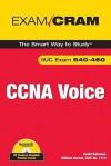 CCNA Voice Exam Cram [With CDROM] - David Bateman, William Burton