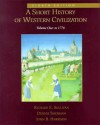 A Short History of Western Civilization, Vol. I (Chapters 1-36). - Richard Sullivan
