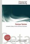 Sonya Sones - Lambert M. Surhone, Mariam T. Tennoe, Susan F. Henssonow