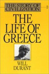 The Life Of Greece Part 1 Of 2 - Will Durant, Ariel Durant, Alexander Adams