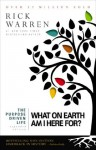 The Purpose Driven Life: What on Earth Am I Here For? - Zondervan Publishing