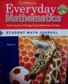 Everyday Mathematics: Journal 2 Grade 1 California - Max Bell