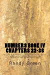Numbers Book IV: Chapters 22-36: Volume 4 of Heavenly Citizens in Earthly Shoes, an Exposition of the Scriptures for Disciples and Youn - Randy Green