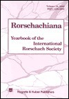 Rorschachiana vol 24 2000: Yearbook of the International Rorschach Society (Rorschachiana) - Anne Andronikof-Sanglade