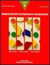 Problem Experiences In Mathemati - Anne M. Bloomer, Randall I. Charles, Cathy Anderson