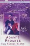 Adam's Promise - Gail Gaymer Martin