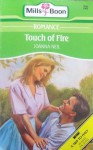 Touch of Fire - Joanna Neil