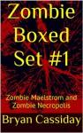 Zombie Boxed Set #1 (Chad Halverson zombie apocalypse boxed set) - Bryan Cassiday