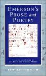 Emerson's Prose and Poetry (Norton Critical Editions) - Ralph Waldo Emerson, Saundra Morris, Joel Porte