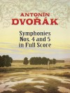 Symphonies Nos. 4 and 5 in Full Score - Antonín Dvořák, Dover Publications Inc.