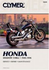 Honda Shadow 1100Cc V-Twin 1985-1996 - Ed Scott