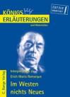 Interpretationen zu Im Westen nichts Neues - Wolfhard Keiser, Erich Maria Remarque