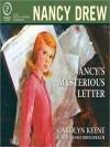 Nancy's Mysterious Letter - Carolyn Keene, Jessie Birschbach