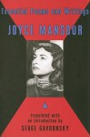 Essential Poems and Writings - Joyce Mansour, Serge Gavronsky