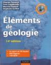 Eléments de Géologie, 12e édition - Charles Pomerol, Maurice Renard, Yves Lagabrielle