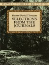 Selections from the Journals (Dover Thrift Editions) - Henry David Thoreau, Walter Harding