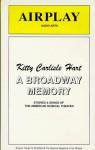 A Broadway Memory - Kitty Carlisle Hart