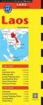 Laos Travel Map Third Edition - Periplus Editions