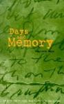 Days and Memory - Charlotte Delbo, Rosette Lamont