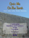 Quiz Me On The Torah - Leviticus - Moshe Avital, Chaim Mazo