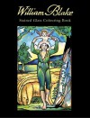 William Blake Stained Glass Colouring Book - William Blake, Marty Noble
