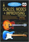 Scales, Modes & Improvising for Guitar Manual: Complete Learn to Play Instructions W/ 2 CDs - Peter Gelling