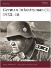 German Infantryman (1) 1933-40 (Warrior) - David Westwood, Adam Hook